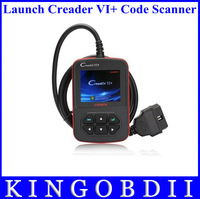 2014 professional OBD2 Scanner launch creader vi+,launch creader vi plus launch creader 6 code reader free shipping