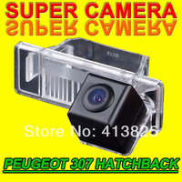 Rear view back reverse car camera cam for Peugeot 307 Nissan Qashqai X-trail Citroen NTSC PAL ( Optional)