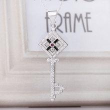 sterling silver key pendant price