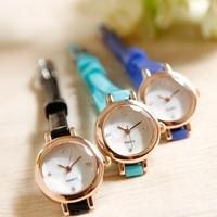 Luxury Gift Fashion Clocks Dress Women rhinestone Watches Quartz Watch Young Hour Woman wristwatch New 2014