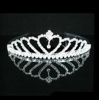 Wedding Flower girls Tiara Jewelry Rhinestone Headpieces ,Bridal Hair Accessories002