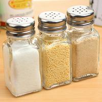 Kitchen supplies creative cruet glass sauce pot salt and pepper bottle pepper bottle condiment bottles