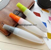 Silicone brush silicone brush egg brush with hose pipe butter chocolate cake Decorating Pen baking tools wholesale