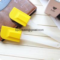 heat resistant silicone spatula baking cake DIY tools necessary soft silicone large cream scraper chocolate scrapers