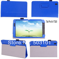 "50pcs/lot 2014 new High quality Crazy Horse Grain leather case for samsung Galaxy Tab Pro 8.4"" inch T320"