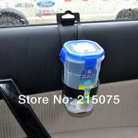 Free Shipping Universal Auto Car Vehicle Drink Bottle Cup Holder Black Glove bag stander for K2 focus k5 hyundai vw