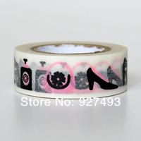 Modern pattern decoration washi tape multicolour classic shredded paper tape