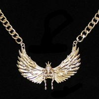 2pcs/lot fashion jewlery accessories metal flying horse necklaces for women 2014