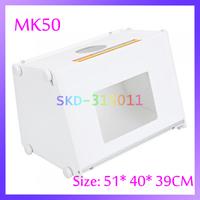 "EU US Plug 20""x16"" MK50 Portable Mini Kit Photo Photography Studio Light Box Softbox 510 * 400 * 390mm"