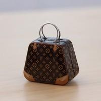 GAGA ! Free shipping Lovely Fashion MINI handbag tin box , tin case ,5.5*3.5*4.5(cm), 80 pcs/lot ,XFJS1-1-8
