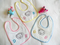 Baby supplies waterproof/baby supplies/embroidered scarves Waterproof