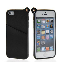 Latest MLT wallet leather wallet style cover FOR Apple iPhone 5G 5S