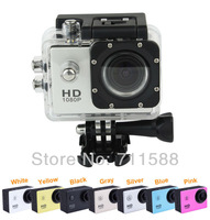 "Newest SJ4000 Extreme Action Sport camera 1080P H.264 1.5"" LCD 4X Digital Zoom 170 Degree Lens Action Digital Video Camera Free"