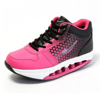 2014 new ladies weight lose Fitness Shoes Swing  Shoes Free Shipping