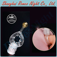 NMC Multiple Point Anal & Clit Stimulation Long Lasting Delay Vibrating Rings, Male Sex Toys, Erotic Audlt Products