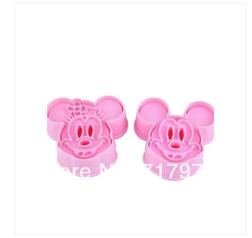 10 set Mickey Minny Mouse Fondant Cake Cookie Biscuit Mold Cutter Diy Tools Mould(China (Mainland))