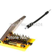 Professional Tool 45-in-1 Screwdriver Set Manual Portable Repair Hardware Kit