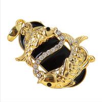 metal disk flash memory diamond necklace pen drive 8gb 16gb 32gb pen drive Pisces pendrive jewelry Constellation usb flash drive
