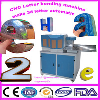 letter bending machine for make stainless steel 3d letter sign