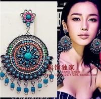 Fashion bohemia earrings luxury tassel earring magazine no pierced