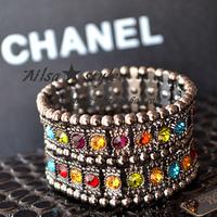 Accessories fashion bracelet wide bracelet female fashion vintage bracelet