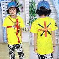 Summer children's clothing personalized short-sleeve T-shirt