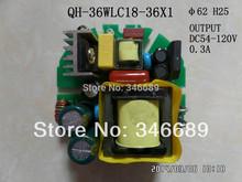 LED driver 36W 30W 28W 26W 24W 20W 300mA 18-36S-1PX1 CE round Qihan built in constant cu