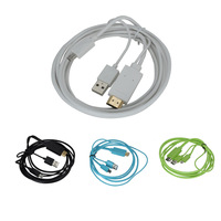 new arrival Data line 1.8M Micro USB 3.0 MHL to HDMI HDTV Adapter Cable for Samsung Galaxy S3 S4 Note 2 Note 3