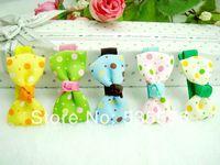 Fashion New kids children girls Baby Princess Colorful Dot Bowknot hairpins Hair clips headwear hair accessories free shipping