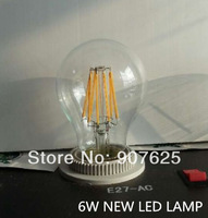 New cob bulb LED filament bulb 6Watts CE Rohs