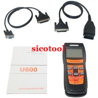 2014 hot selling for auto scanner memoscan U600 VAG OBD2 CAN Scanner Code Reader Live Data