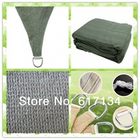 high quality  new  product 3.5m *3.5 m *3.5mgarden trangle sun protection net