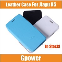 Original jiayu g5 phone case for 2000mAh battery leather case cover flip case mobile phone case for jiayu g5/Vicky