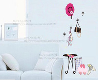 Hot Sale Free Shipping Fashion Wholesale Home Wall Stickers Removable Leisure Creative Living Room Decor Decals
