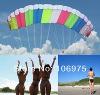 SKYWALKER 3M DUAL-LINE CONTROL PARAFOIL POWER STUNT SPORT KITE FLYING TOY BEACH PARK GARDEN FUN