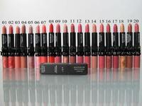 2014new makeup water mbellish charm lipstick and lipgloss 2in1 pink skin  purple orange  cosmetics  wholesale