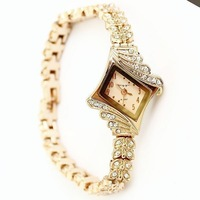 King Girl Korea genuine new listing header buds chain diamond rose gold diamond bracelet watch