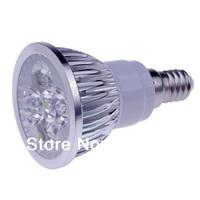 Wholesale 50 X High Power CREE E14 LED Spotlight 4x3W 12W 85-265V LED Light Lamp Bulb LED Downlight Led Bulb Warm/Cool White