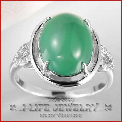 ... jade naturel bagues de fiançailles pour femmes à bas prix avec de la
