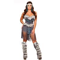 American women costume, aborigines costume, American indian costume