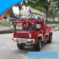 Retail!Decoo Fire Engine Exploiter series Building Block Sets 1036pcs Educational Jigsaw Enlighten DIY toys for children