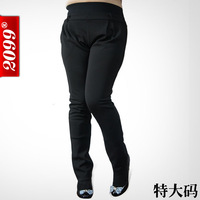 135KG!!2014 Plus size harem pants women spring oversized black fashion formal OL high waist trousers XXL 4XL 6XL 8XL 10XL
