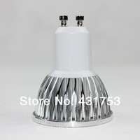 HOT 10pcs/lot GU10 12W (4X3W) High power LED spotlight Bulb Lamp Warm white/cold white AC85-265V Free Shipping