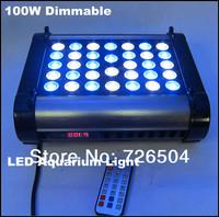 FREE SHIPPING  Intelligent Control System Phantom 100W LED Aquarium Light Dimming
