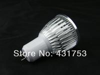 5X High Power GU5.3 4X3W 12W LED Light LED bulb LED lamp 85V-265V/AC LED Spotlight Free shipping