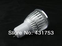 Wholesale 50pcs/lot High Power GU5.3 4X3W 12W LED Light LED bulb LED lamp 85V-265V/AC LED Spotlight Free shipping