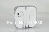 Multicolor like Earphone Headphones With Remote and Mic For apple IPhone 5 5G Retail box High Bass quality Free Shipping
