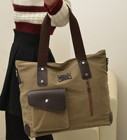 Hot sell 2014 letter casual canvas bag oppo bag women's messenger bags handbag free shippment factory price