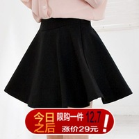 Basic 2013 high waist short skirt slim hip pleated skirt a-line skirt sheds women's bust skirt