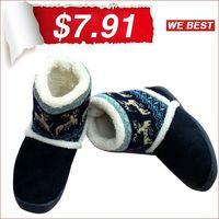 2014 new ankle warm boots short plush ladies snow shoes for women winter thien artificial plus size 37-41 free ship XWX0